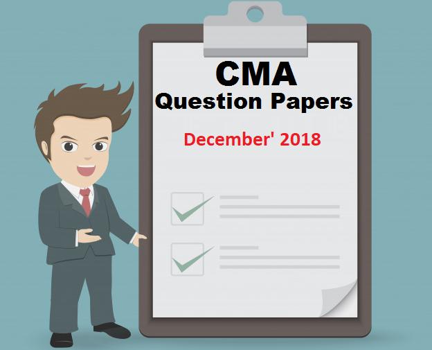 Question Paper Dec 2018